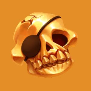 Skulls UP Flaming Wild Symbol