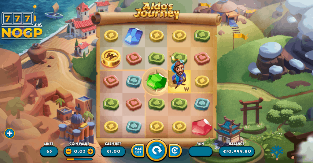 Aldo's Journey video slot screenshot