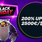 Black Friday madness at Campeonbet: 200% up to £/$/€ 2,500 + £/$/€10,000 cash prizes.