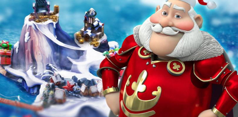 Celebrate Christmas at Casino Heroes' Christmas Island.
