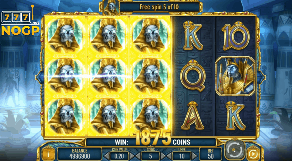 Doom of Egypt video slot Gratis spins featurescreenshot
