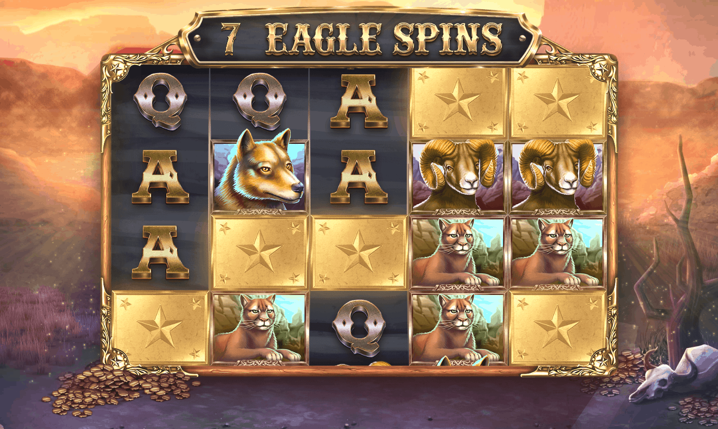 Eagle Riches video slot - Eagle Spins feature