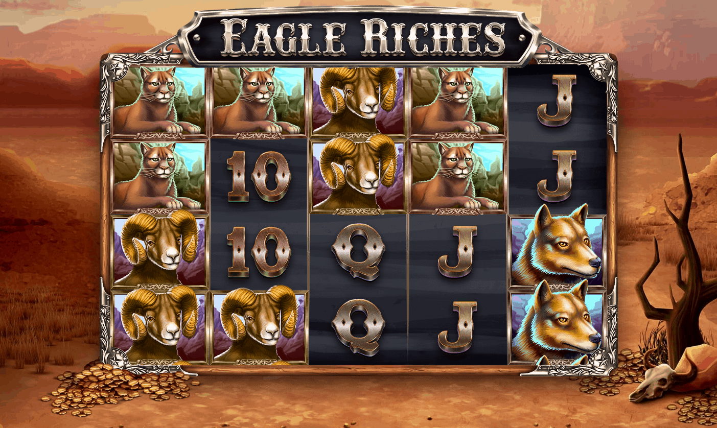 Eagle Riches video slot