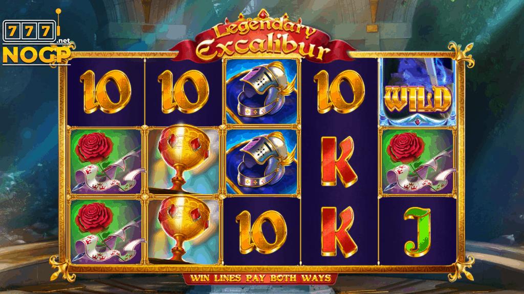Legendary Excalibur slot