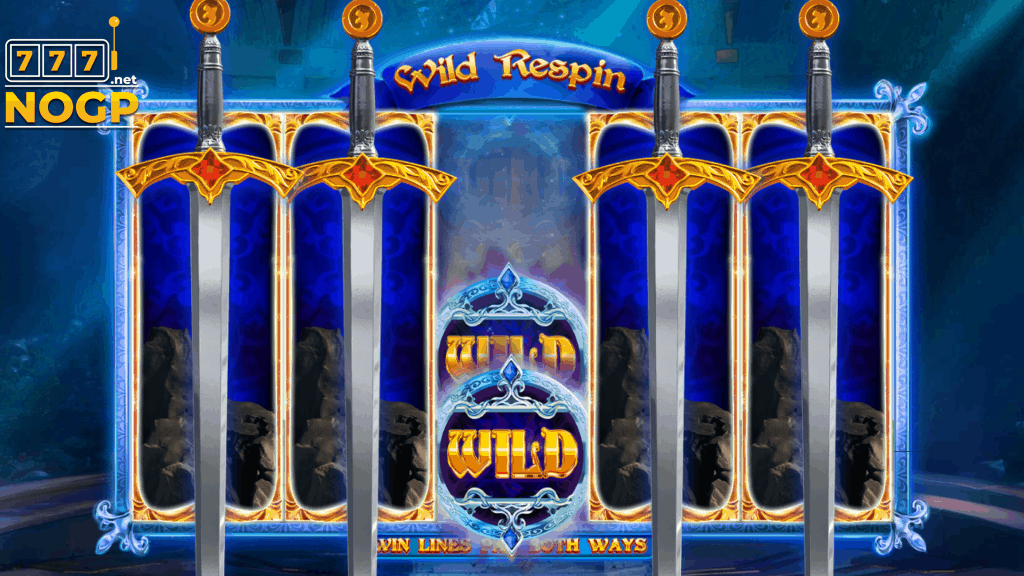 LEgendary Excalibur video slot - Wild feature