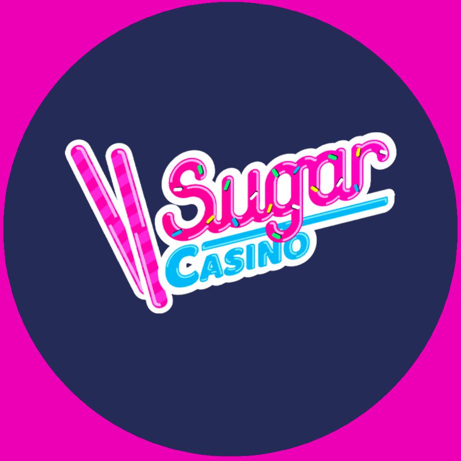 Sugar Casino logo round