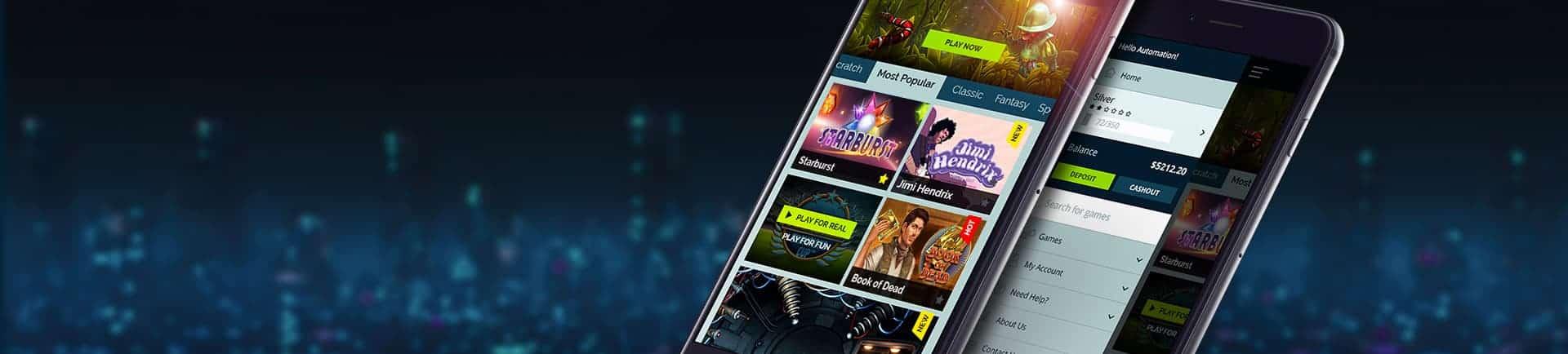 Wixstars Casino Mobile games