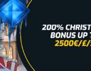 Claim uw kerstbonus van 200% tot €2500,- bij Campeonbet.