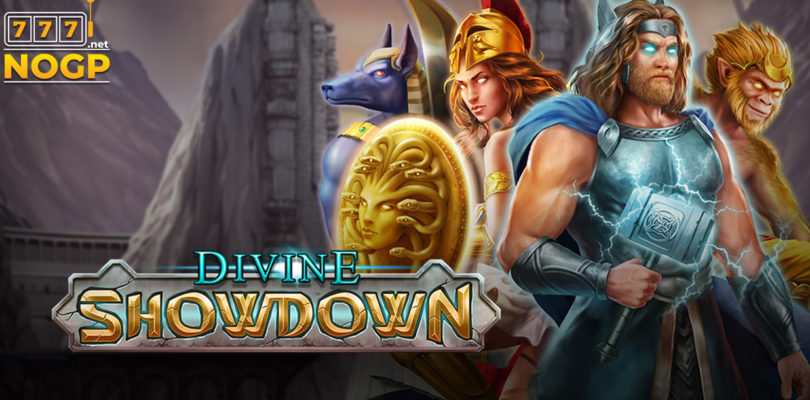 Divine Showdown video slot logo