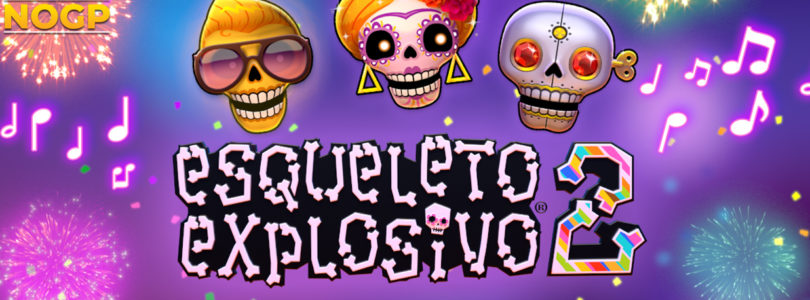 Esqueleto Explosivo 2 video slot logo