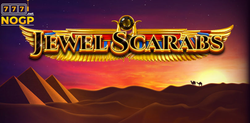 Jewel Scarabs video slot logo