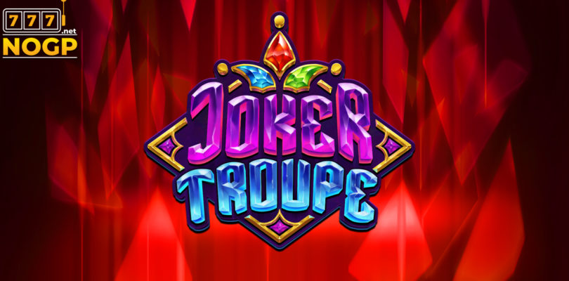 Joker Troupe video slot logo