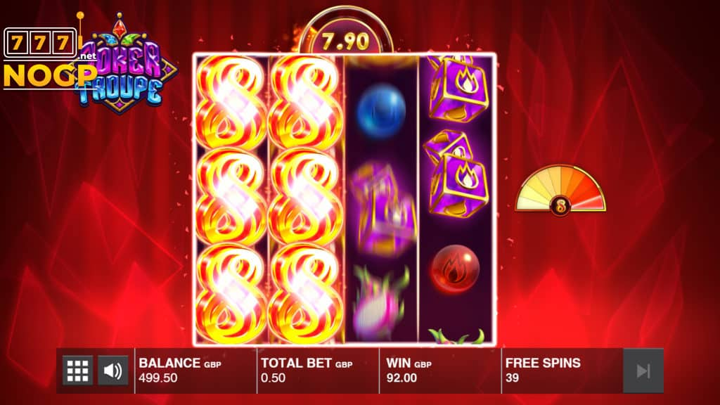 Joker Troupe Red Joker Free Spins feature