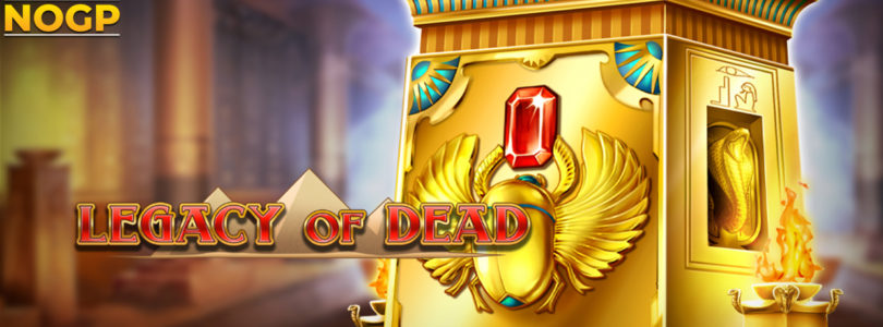 Legacy of Dead video slot logo