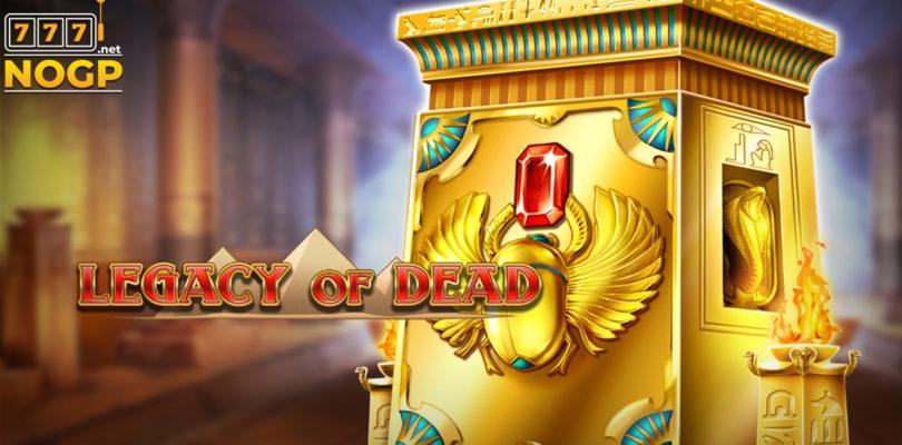 Legacy of Dead video slot logo
