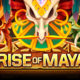 Rise of Maya video slot logo