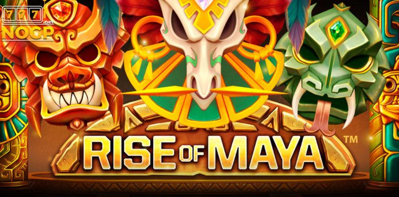Rise of Maya video slot logo