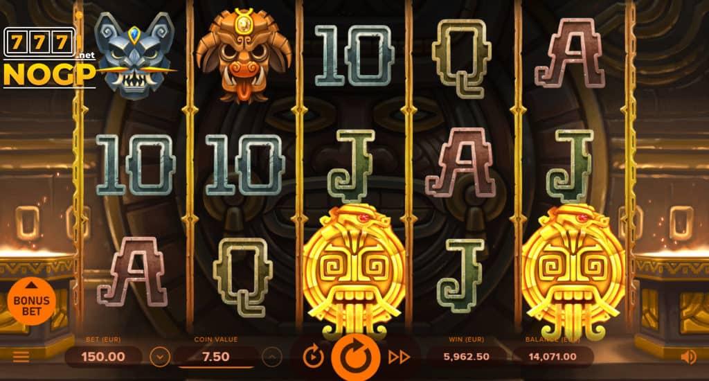 Rise of Maya video slot screenshot