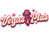 Vegas Plus logo blue diamond