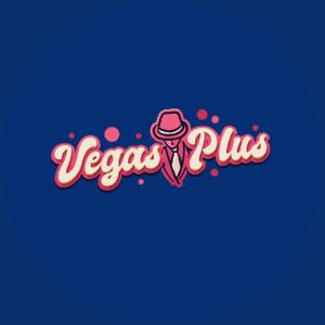 Vegas Plus logo blue round