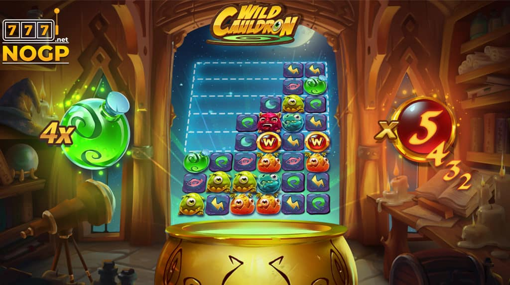 Wild Cauldron video slot - Screenshot