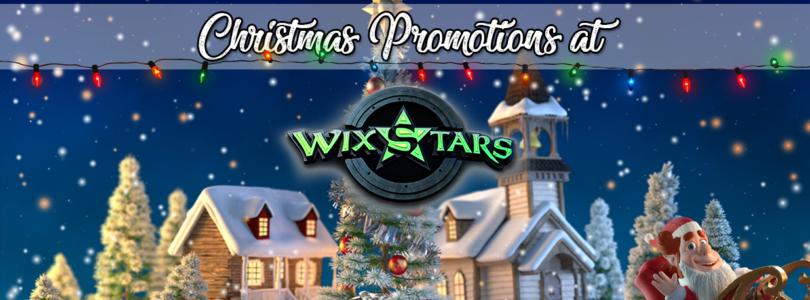 Xmas promotions at Wixstars Casino