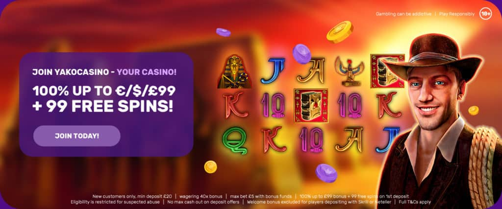 Yako Casino new bonus