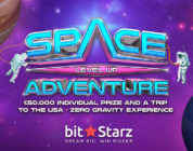 Win a Zero Gravity Experience and €50,000 at Bitstarz.