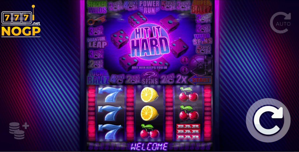 ELK Studios' Hit it Hard slot!