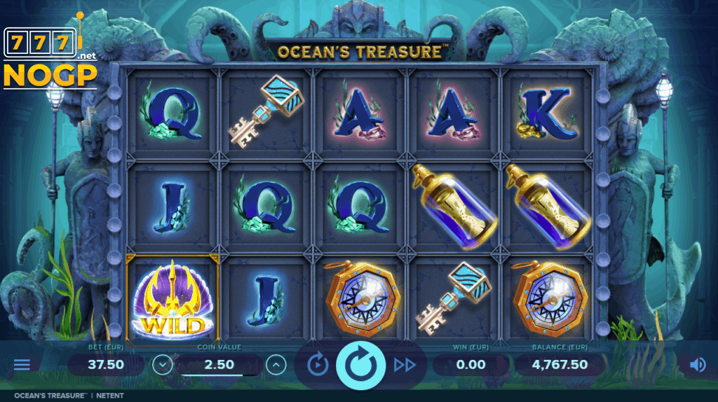 NetEnt's Ocean's Treasure slot