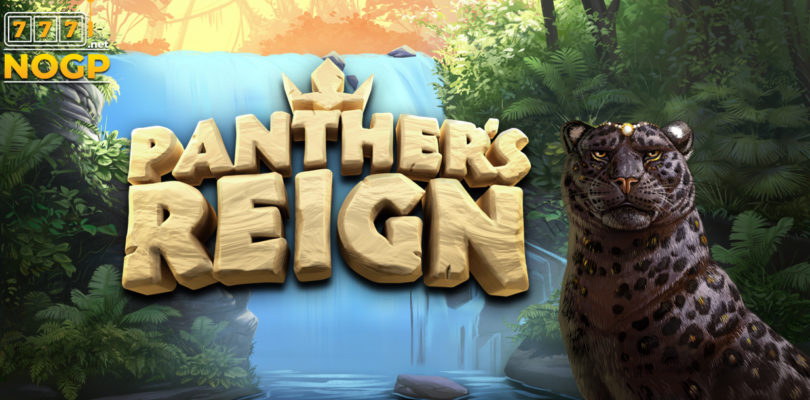 Panther's Reign video slot logo