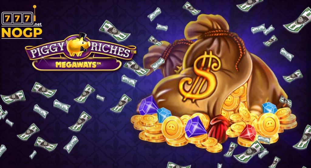 Piggy Riches megaways video slot logo