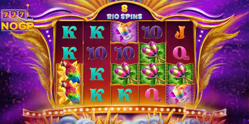 Rio Stars Free Spins feature