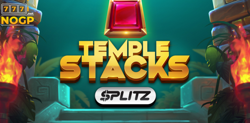 Temple Stacks slot logo