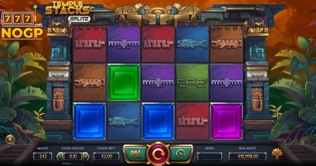 Temple Stacks slot screenshot