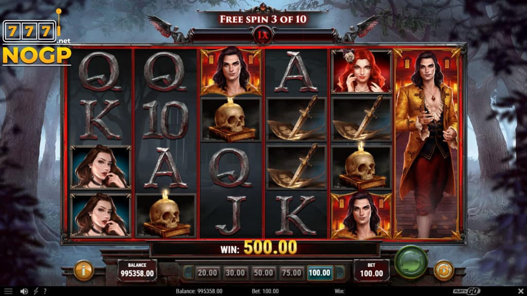 Wild Bloods 2 video slot Free Spins feature