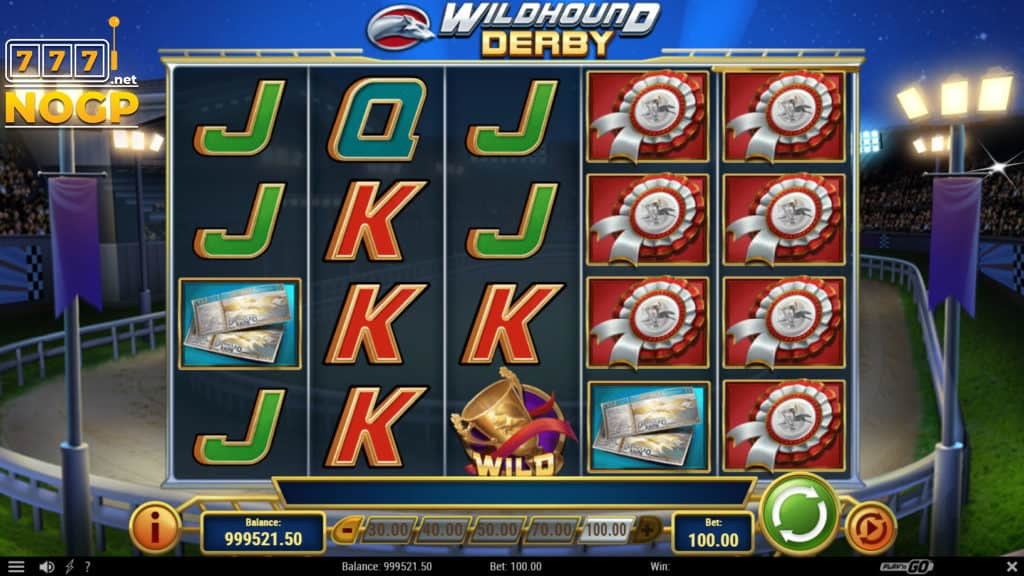 Wildhound Derby video slot screenshot