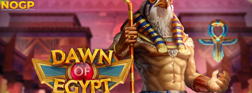 Dawn of Egypt slot logo