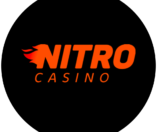 Nitro Casino logo orange/black