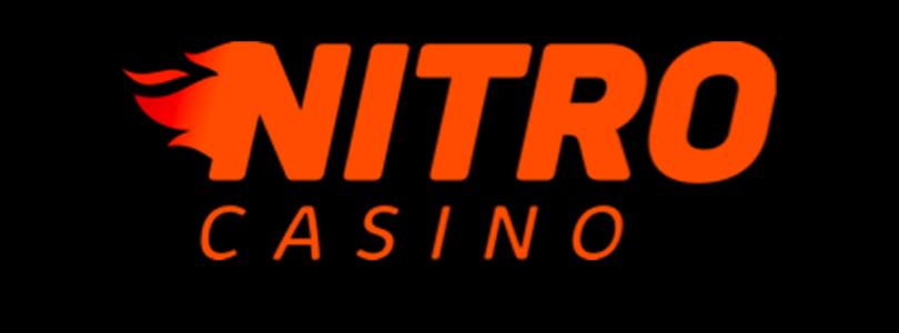 Nitro Casino logo orange/black