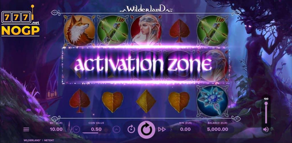 Wilderland slot - Activation Zone