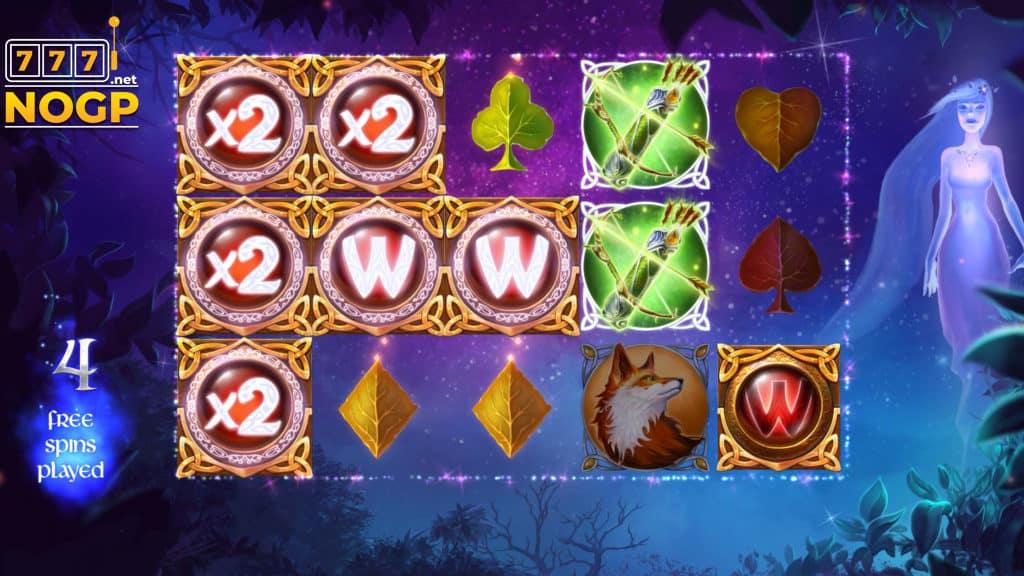 Wilderland slot - Free spins feature