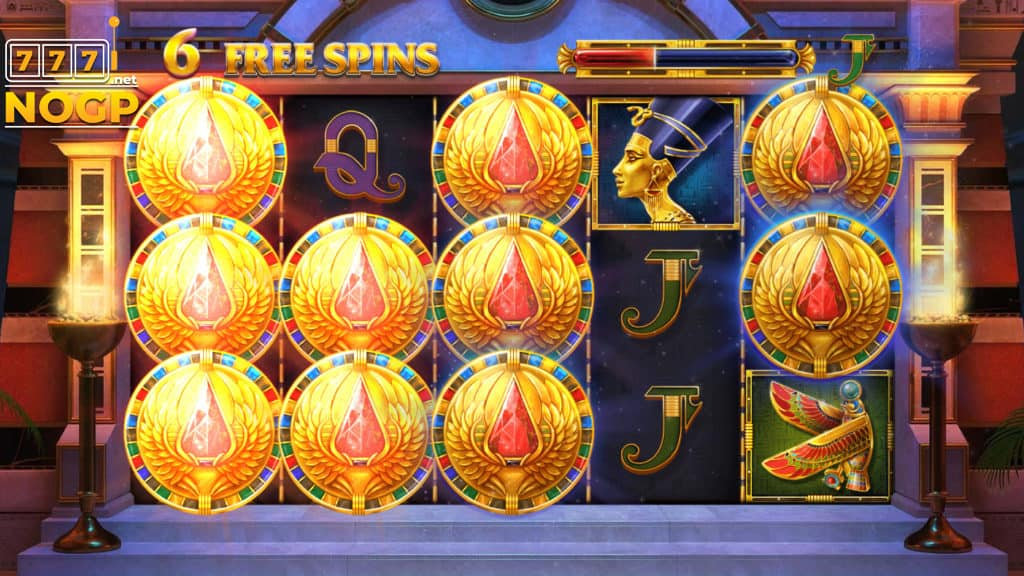 Wings of Ra Free Spins feature