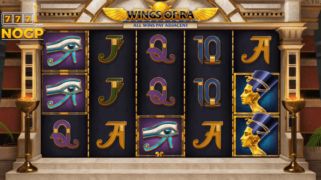 Red Tiger's Wings of Ra slot
