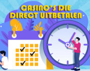 Online casinos die dezelfde dag uitbetalen