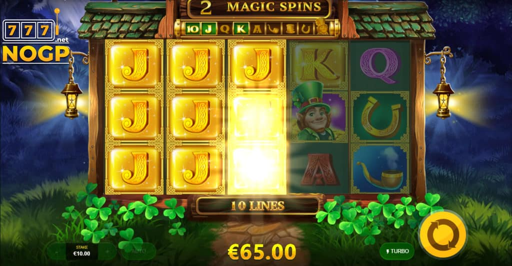 Free Spins Feature Leprechaun Magic slot