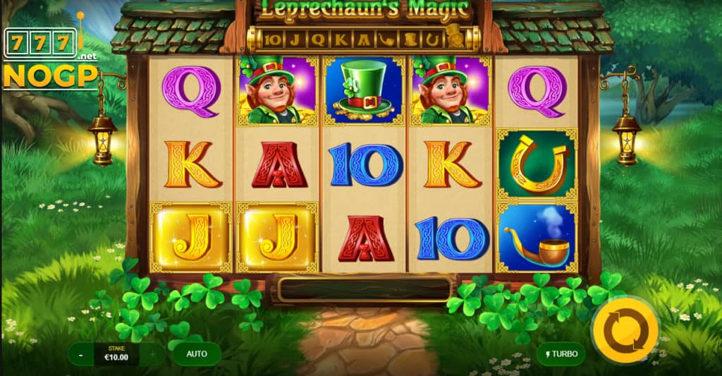 Red Tiger's Leprechauns Magic slot