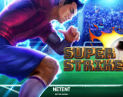 Super Striker slot logo