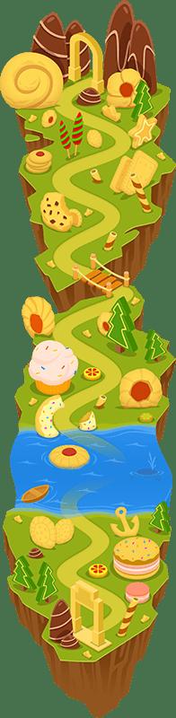 Cookie Casinos  VIP Island