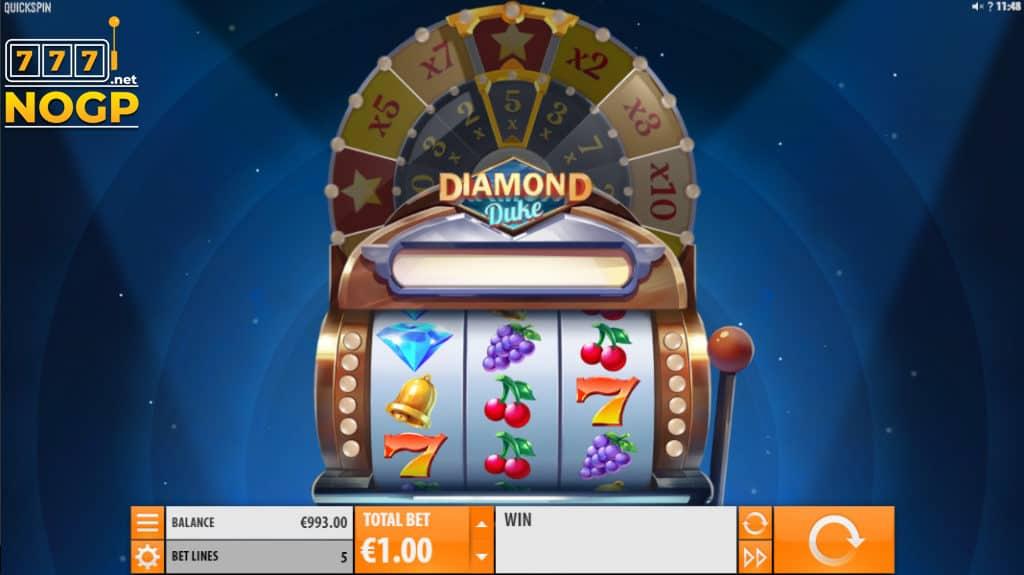 Quickspin's Diamond Duke slot